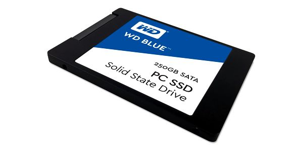 SSD Western Digital 3D NAND 250GB (WDS250G2B0A)3