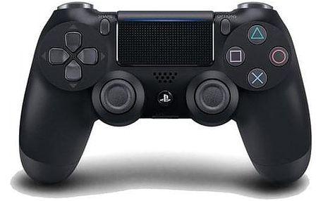 Sony Dual Shock 4 pro PS4 v2 černý (PS719870050)