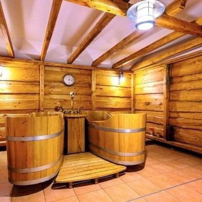 Beskydy: Hotel Pod Akáty u turistických tras s polopenzí a slevou na pivní lázně