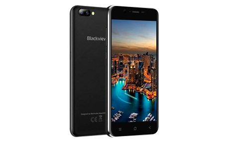Mobilní telefon iGET BLACKVIEW GA7 černý (84000416)
