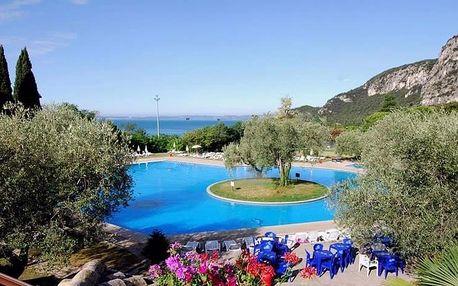 Lago diGarda, Hotel Marco Polo přímo u jezera polopenzí