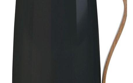 Stelton Termokonvice na kávu Emma Black 1,2 l, černá barva, kov