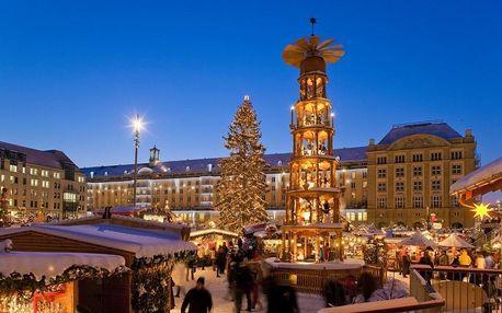 Adventní Drážďany autobusem: za trhy, nákupy, Primark i památkami
