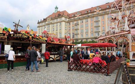 Jarní trhy v Drážďanech: autobusem za nákupy, trhy a památkami