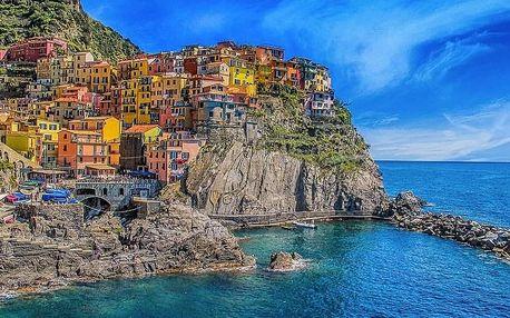 Romantická Itálie: Cinoque Terre, Portofino, Janov, Parma - 7 denní poznávací zájezd s dopravou a polopenzí