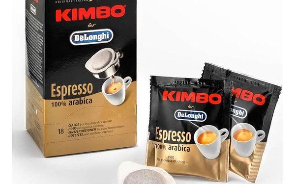 Káva mletá porcovaná DeLonghi Pods Kimbo Arabica2