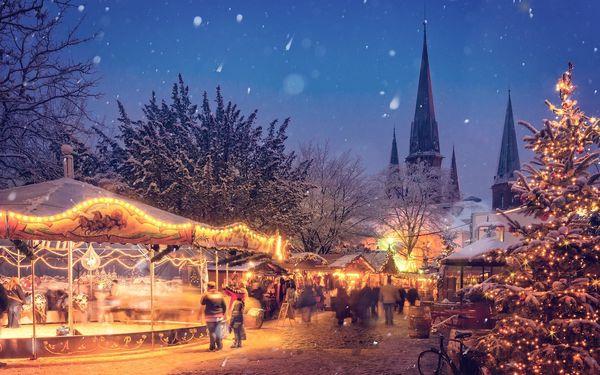 Vánoční Steyr a Linz, Horní Rakousko, Rakousko, autobusem, bez stravy