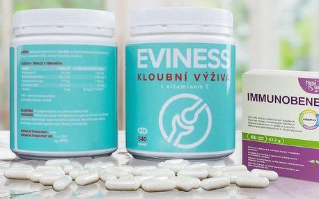 Kloubní výživa Eviness s dárkem na posílení imunity