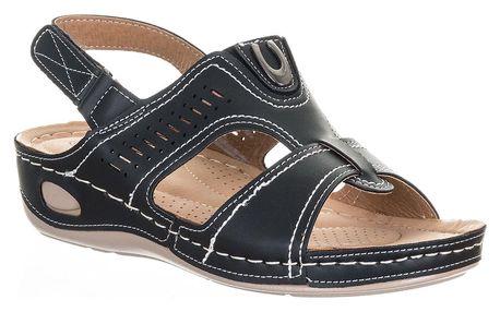 Camo Dámské sandály šíře H zapínání na suchý zip