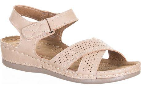 CAMO Dámské sandály na suché zipy perforace