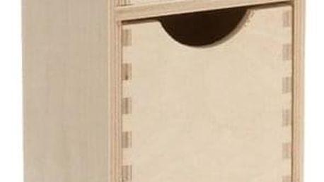 Kontejner na drobnosti, 5xzásuvka, dřevěný , ZELLER