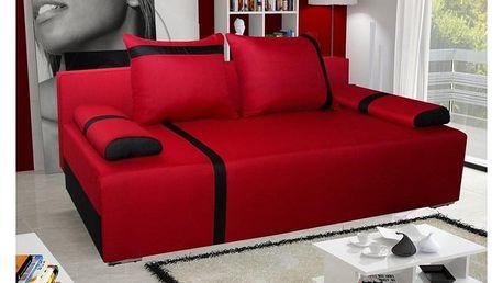 Pohovka STRAKOŠ Capri 01 červená