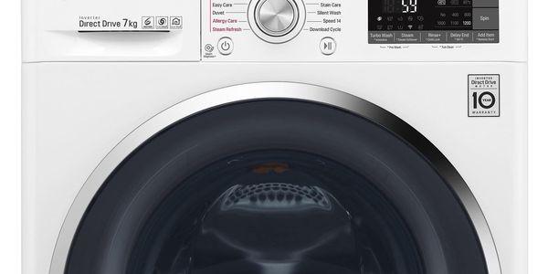 Automatická pračka LG F72J8HS2W bílá + DOPRAVA ZDARMA2