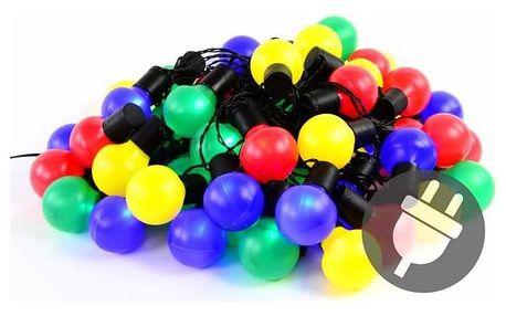 Garthen 39768 Barevné párty osvětlení - venkovní - 50 LED