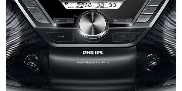 Radiomagnetofon s CD Philips AZ787 (AZ787/12) černý + DOPRAVA ZDARMA2
