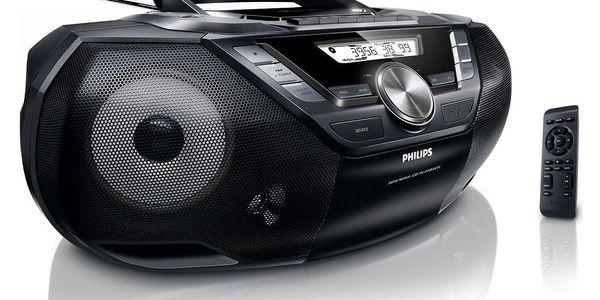 Radiomagnetofon s CD Philips AZ787 (AZ787/12) černý + DOPRAVA ZDARMA5