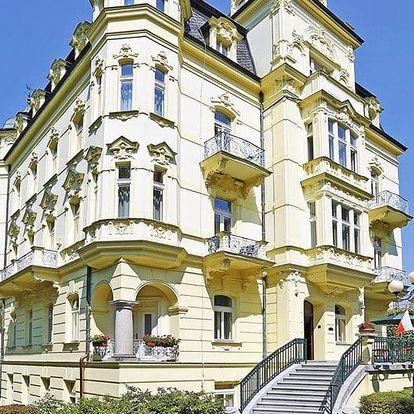Karlovy Vary: 4* hotel s wellness procedurami v ceně a polopenzí