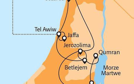 Izrael letecky z Polska na 4 dny, polopenze
