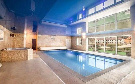 Rakovnicko: Hotel Lions s polopenzí, neomezeným wellness, procedurami a slevami