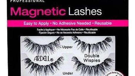 Ardell Magnetic Lashes Double Wispies magnetické řasy 1 ks odstín Black pro ženy