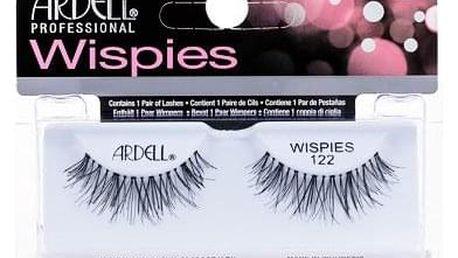 Ardell Wispies 122 nalepovací řasy 1 ks odstín Black pro ženy