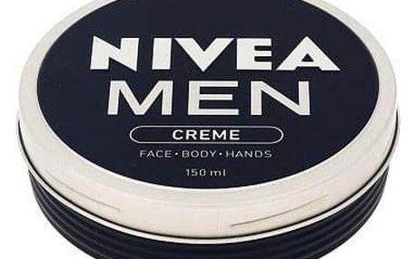 Nivea Men Creme Face Body Hands krém na obličej, tělo a ruce 150 ml pro muže