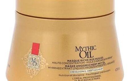 L´Oréal Professionnel Mythic Oil maska pro nepoddajné a silné vlasy 200 ml pro ženy