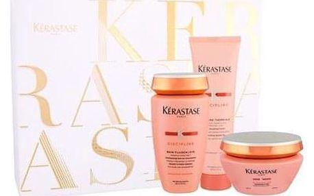 Kérastase Discipline 250 ml sada šampon 250 ml + maska na vlasy 200 ml + termoochranné mléko 150 ml pro ženy