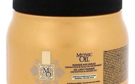 L´Oréal Professionnel Mythic Oil maska pro normální a jemné vlasy 500 ml pro ženy