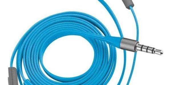 Sluchátka Trust Aurus Waterproof In-ear (20837) modré2