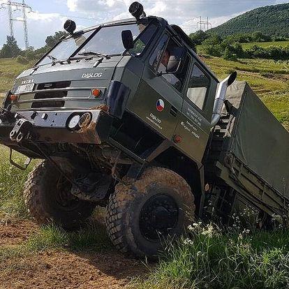 Jízda vojenským vozidlem Tatra 815 VVN
