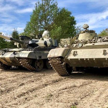 Řízení bojového tanku T55 - premium