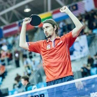 Stolní tenis s mistrem ČR Dmitrijem Prokopcovem