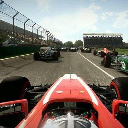 Jízda v závodním simulátoru pro dva
