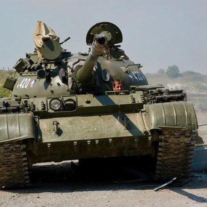 Řízení bojového tanku T-55 - standard