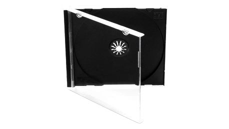 Obal Cover IT pro CD,10mm jewel, 10ks/bal černý (27001P10)
