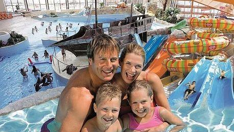 Rodinný vstup do Aquapalace Praha