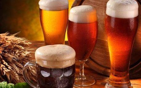 Pobyt v pivních lázních
