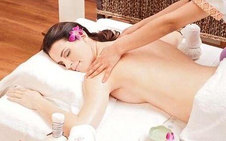 Dotek vůně - olejová aroma masáž