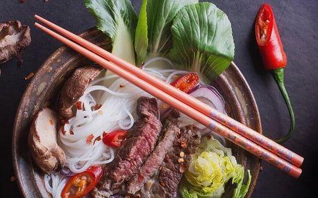 Asijská hostina - degustace Café Buddha