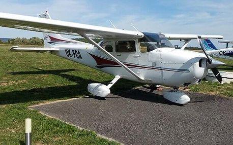 Výlet vyhlídkovým letadlem pro dva