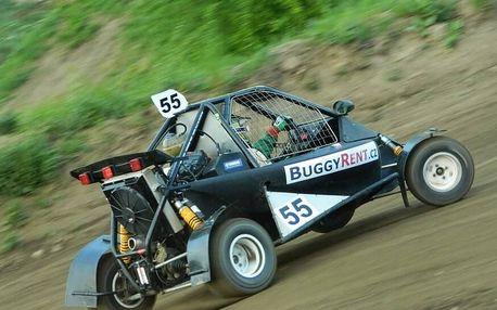 Jízda v závodní Buggy - 7 kol