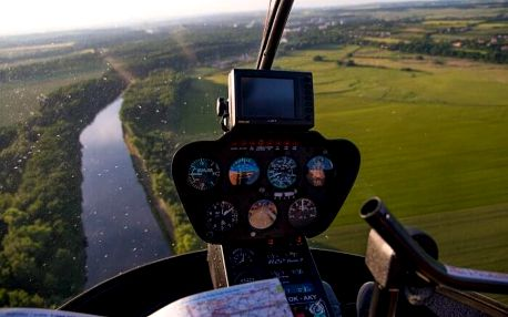 Let vrtulníkem R22 - 15 minut