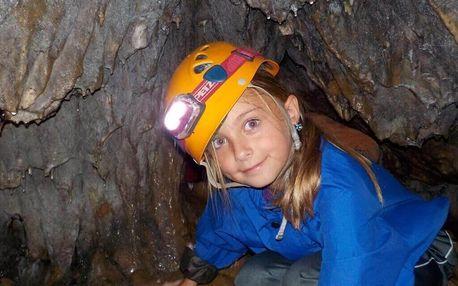 """""""Únikovka"""" v jeskyni"""