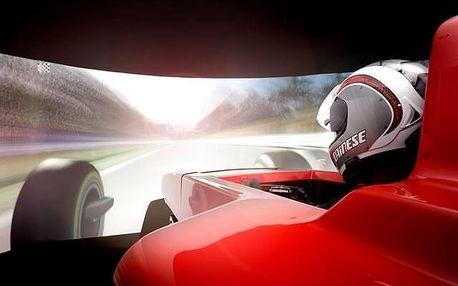 Simulátor Formule 1 pro dva - 60 minut