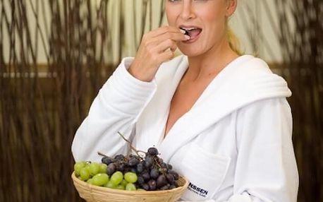 Zábal s hroznovým vínem