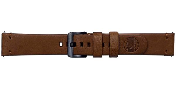Výměnný pásek Samsung kožený pro Galaxy Watch GP-R815BR 20mm (GP-R815BREEAAB) hnědý + DOPRAVA ZDARMA2