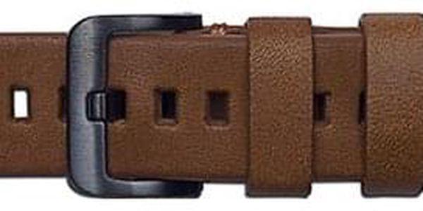 Výměnný pásek Samsung kožený pro Galaxy Watch GP-R815BR 20mm hnědý (GP-R815BREEAAB)