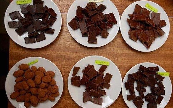 Degustace čokolády pro 2 s dárkem | Praha | celoročně | cca 2 hodiny3