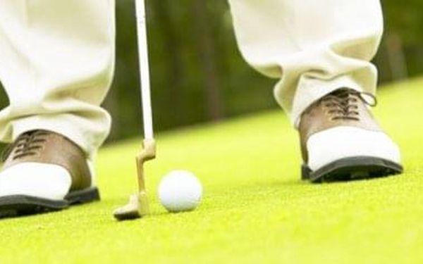 Golf na zkoušku   Praha   celoročně, v zimních měsících záleží na stavu hřiště   3 hodiny2